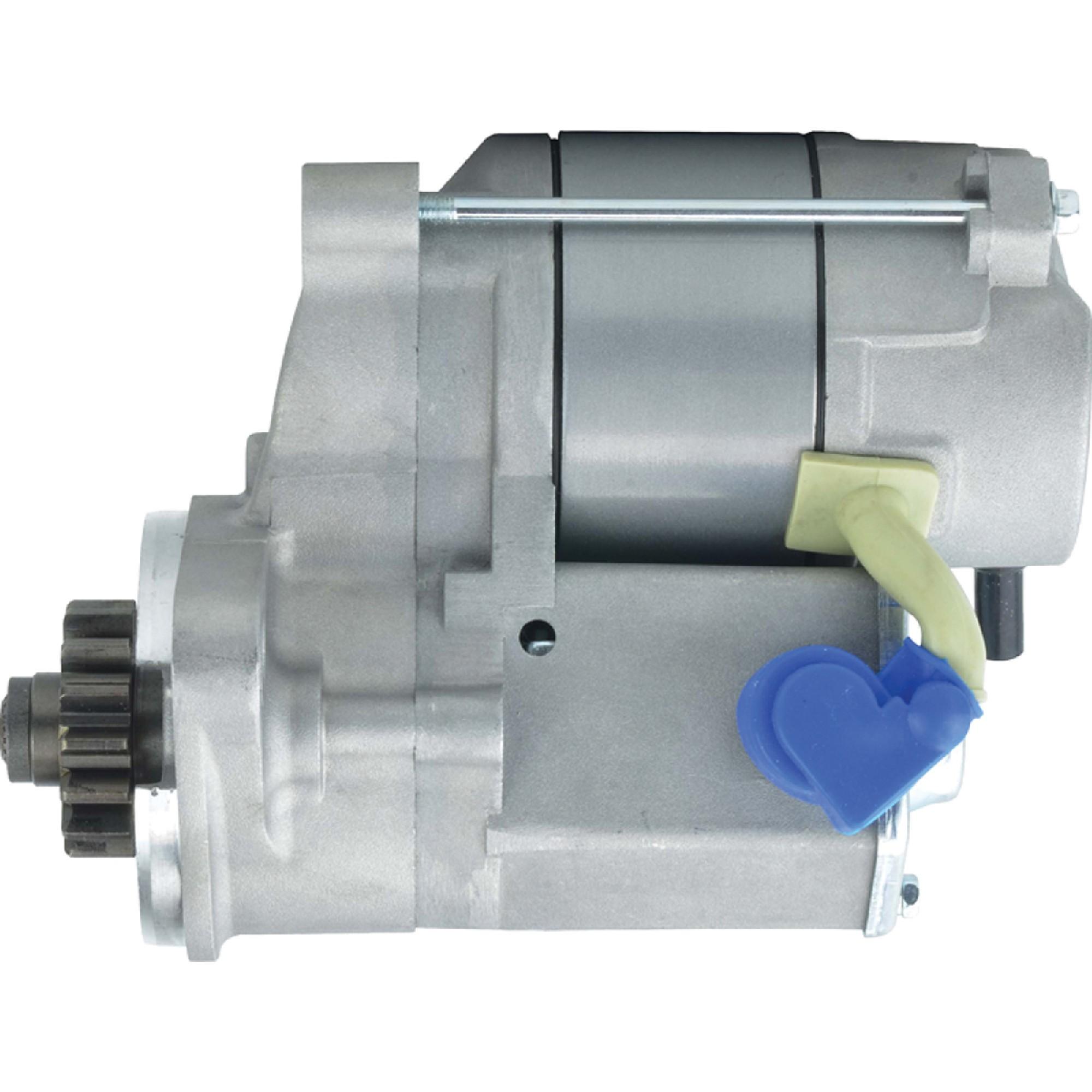 NEW STARTER FITS MASSEY FERGUSON TRACTOR MF1205 ISEKI ENGINE 6281-100-005-00