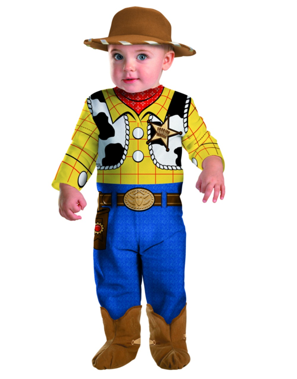 Disney Toy Story 3 Young Children S Cowboy Woody Costume