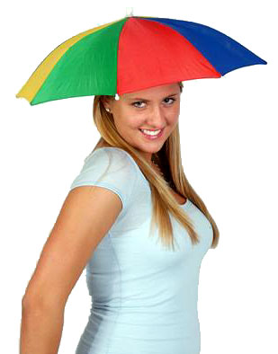 4a65435d74281 Funny Umbrella Golf Fishing Costume Party Sun Shade Hat on PopScreen
