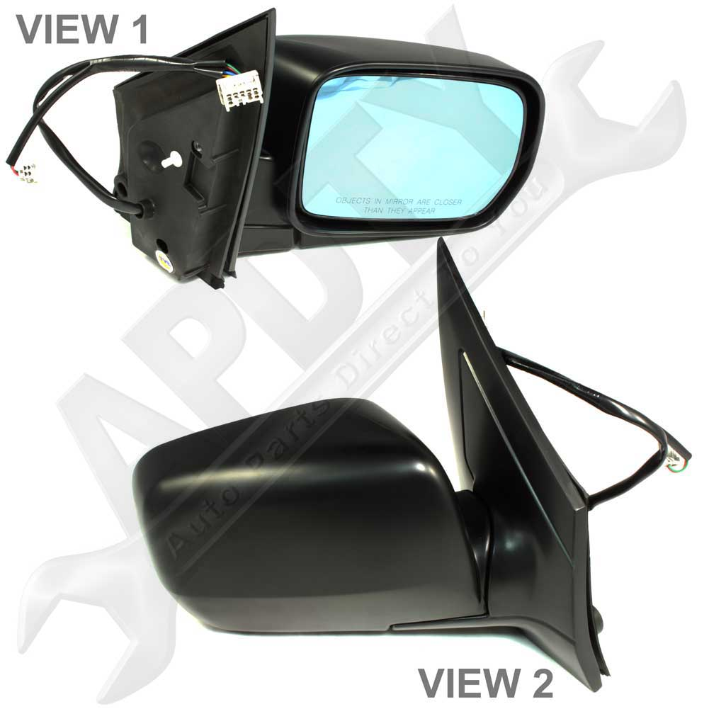 2002-2006 Acura MDX Side View Mirror Assembly Power Heated