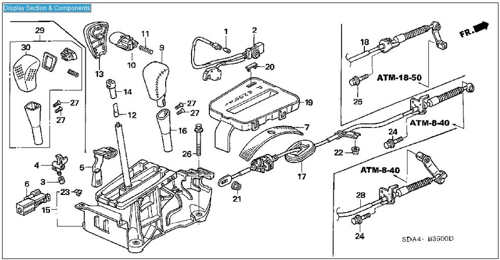 1998 Honda Accord Transmission Diagram Wiring Online 98 Engine 1996: 2003 Honda Accord 4 Cyl Engine Diagram At Jornalmilenio.com