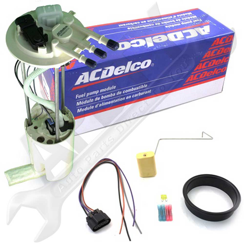installing a fuel pump with a new harness connector on a 1999 2003 rh  autorepairinstructions com 2003 gmc yukon fuel pump relay 2003 gmc envoy fuel  pump ...