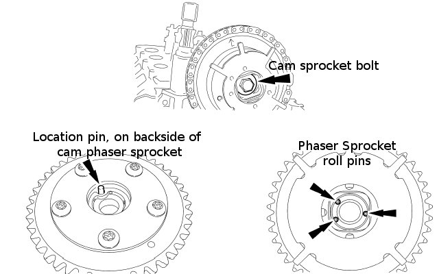 How To Remove Replace Inspect Install A Camshaft Phaser