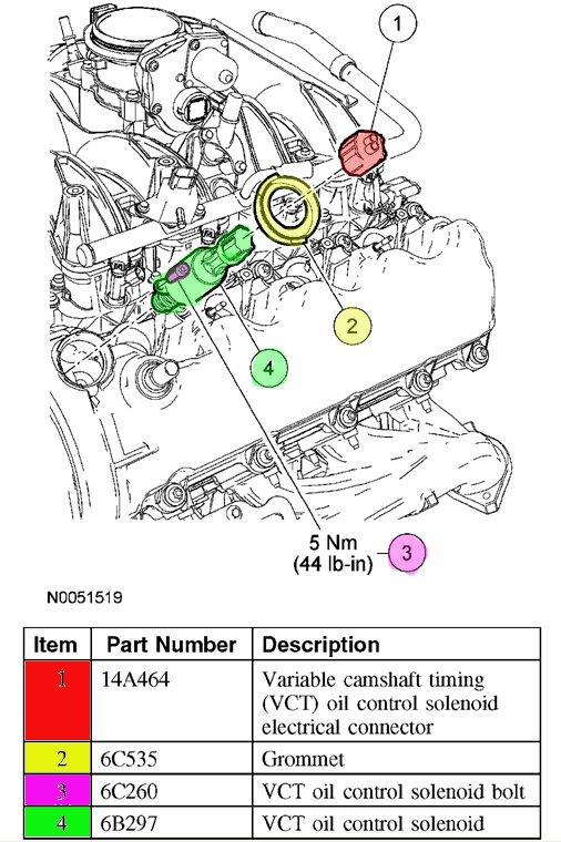 2001 Ford F150 Egr Valve Location