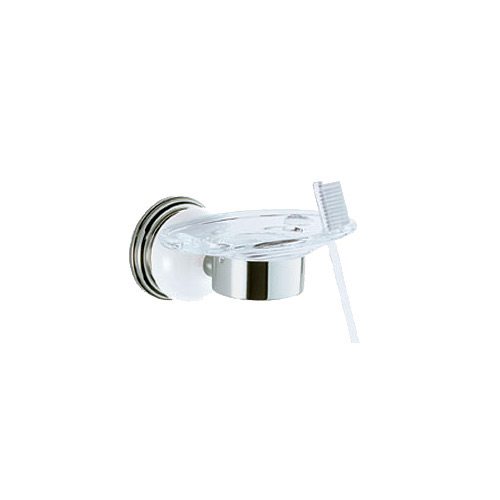 Delta Select 69356-PN Polished Nickel Bathroom Toothbrush Tumbler Holder