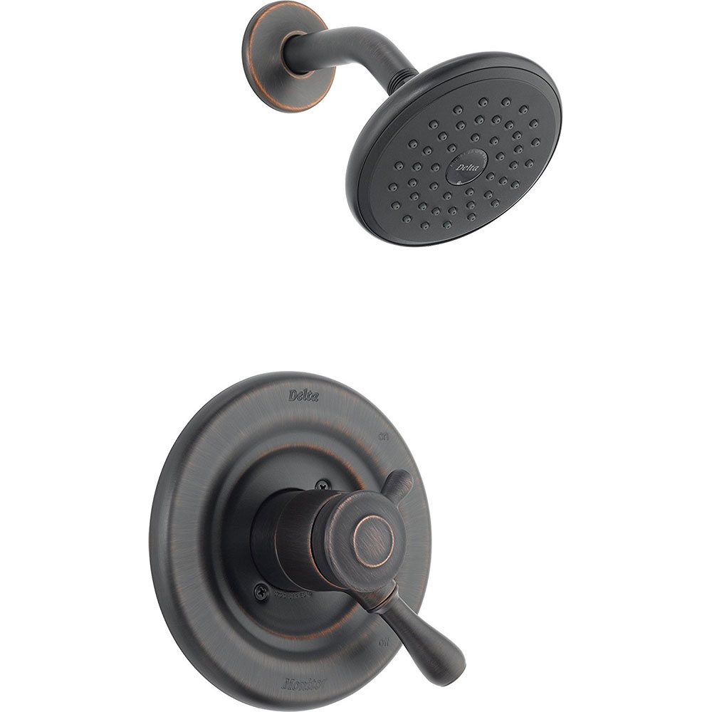 Delta Faucet T17278 Rb Leland Monitor 17 Series Shower Trim Kit Venetian Bronze Ebay