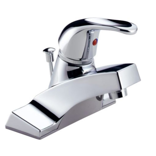 Peerless Bathroom Faucets: Peerless P36LF Single Handle Centerset Bathroom Sink
