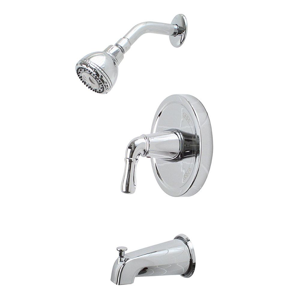 Premier 120048 Sanibel Tub & Shower Faucet Single Handle Chrome ...