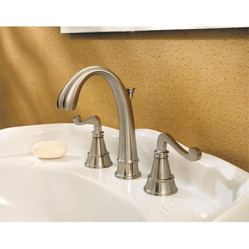 Price Pfister 049-FLKK Falsetto Bathroom Sink Faucet BN