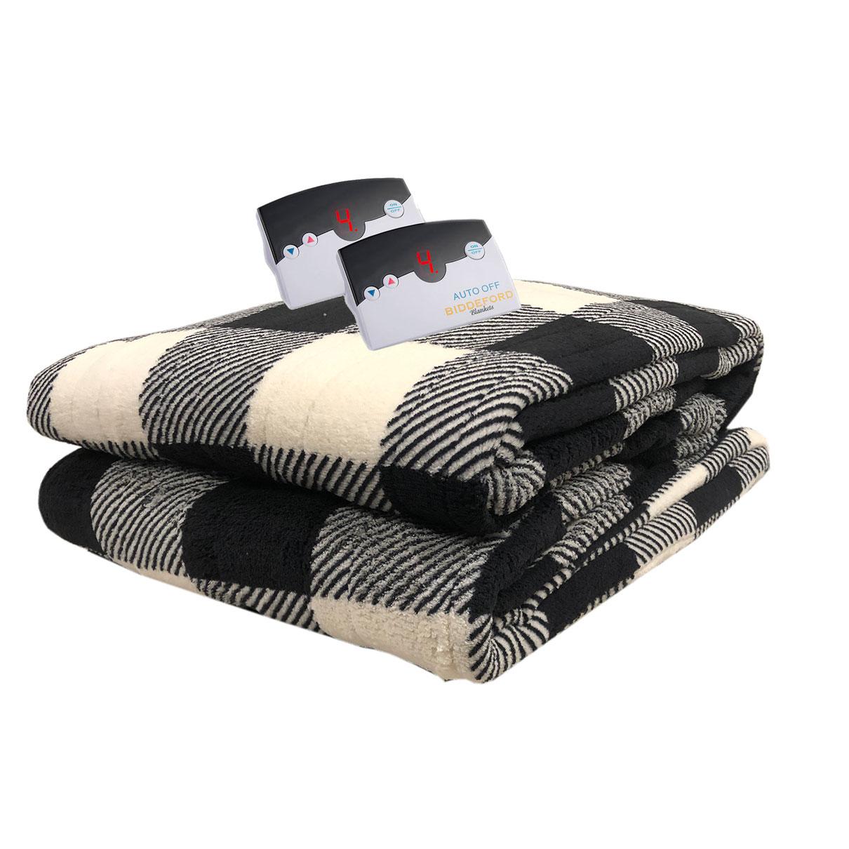 Biddeford-MicroPlush-Electric-Heated-Blanket-Digital-Assorted-Sizes-amp-Colors