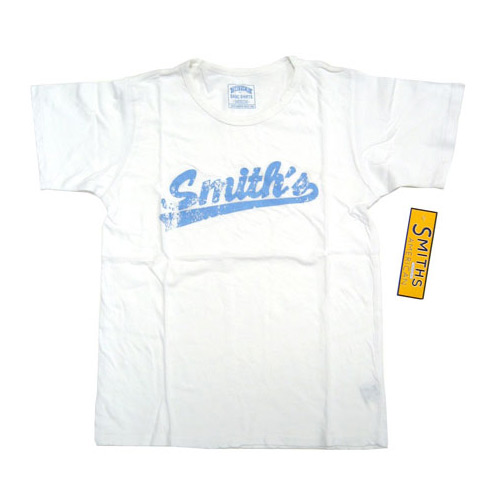 Smith's American White Vintage Distressed T-Shirt Womens S/M Small/Medium - Smith's American Fashion