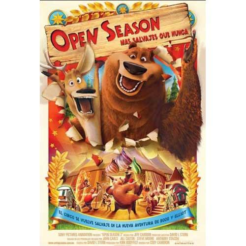 Amigos Salvajes (Open Season) DVD Ashton Kutcher, Martin Lawrence - Animation Movies and DVDs