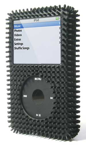 gifts and gadgets store - Speck FunSkin Black Grass iPod Skin Case IV-BLACK-GR, Fits 30/60 Gig 5G Video (5th Gen) - iPod and Cell Phone Accessories - Electronics