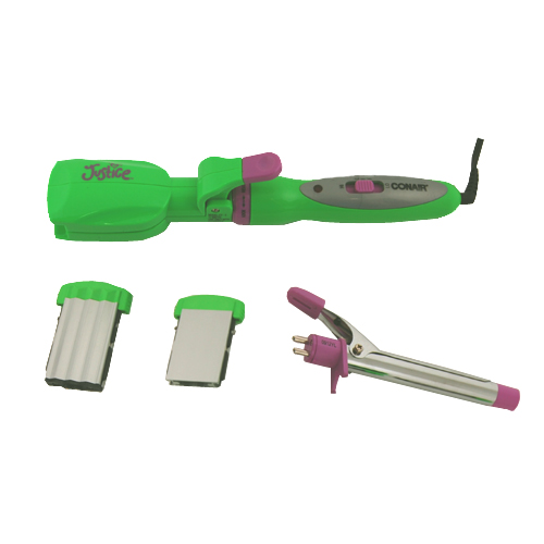 Conair CB600 5 in 1 Curling Iron / Straightener Styler Green - Hair Care Personal Care