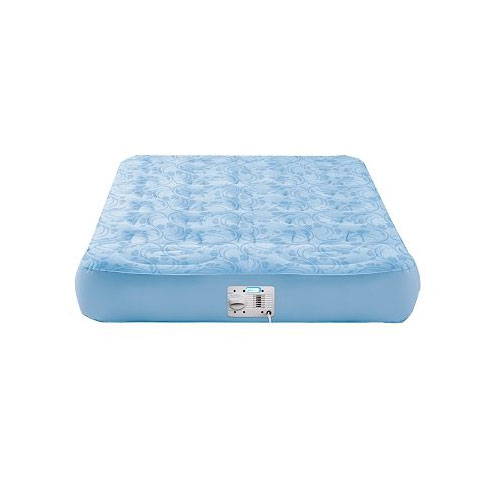 Aerobed 41511 ImagineAir Twin Inflatable Air Bed Mattress with Built-In Pillow - AeroBed Inflatable Beds Home and Garden