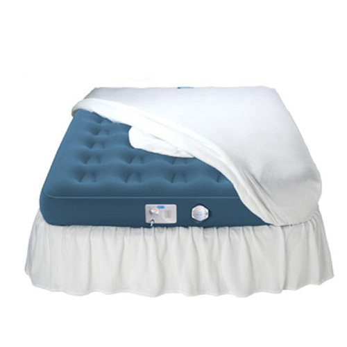 Aerobed 42523 Signature Comfort Raised Queen Inflatable Air Bed Mattress - AeroBed Inflatable Beds Home and Garden