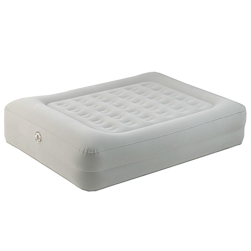 Aerobed 86123 Queen Elevated Raised Air Bed Mattress Built