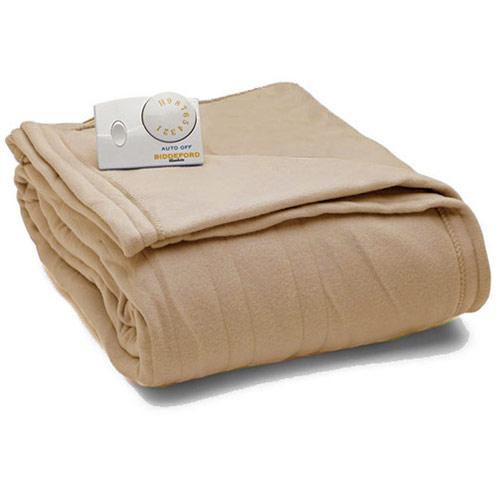 Biddeford Comfort Knit Fleece Electric Heated Blankets