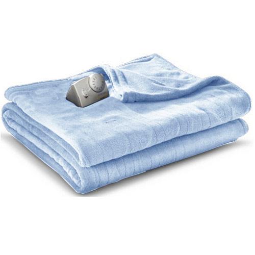Biddeford Microplush Analog Electric Heated Blanket Twin