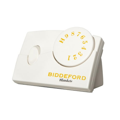 Biddeford Microplush Analog Electric Heated Blanket Twin