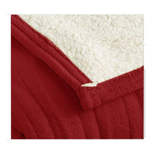 Biddeford-MicroPlush-Sherpa-Electric-Heated-Warming-Blanket-Twin-Full-Queen-King thumbnail 12