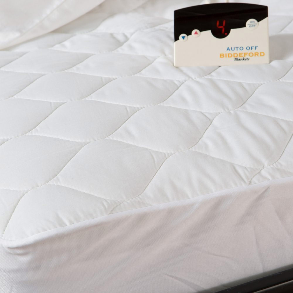 Biddeford Quilted Electric Heated Mattress Pad Twin Full Queen King