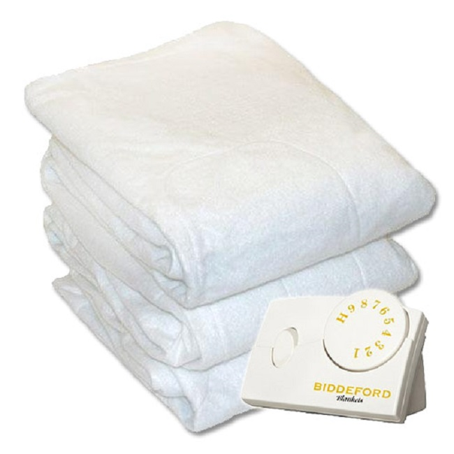 Biddeford Delightful Nights Heated Mattress Pads Twin Full