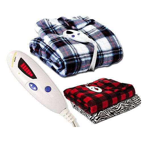 Biddeford Luxuriously Soft Microplush Electric Heated