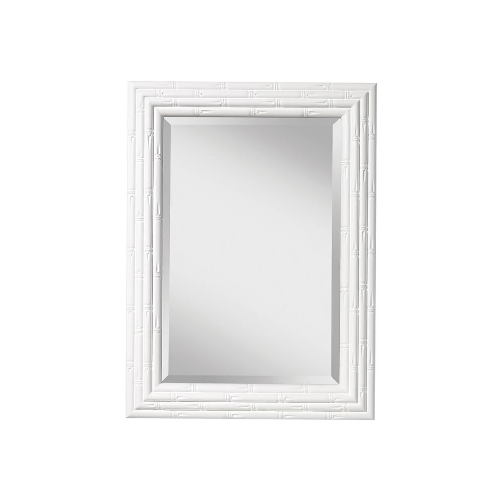 murray feiss bathroom mirrors feiss mr1181hgw the mirrors collection mirror hi gloss white 19689