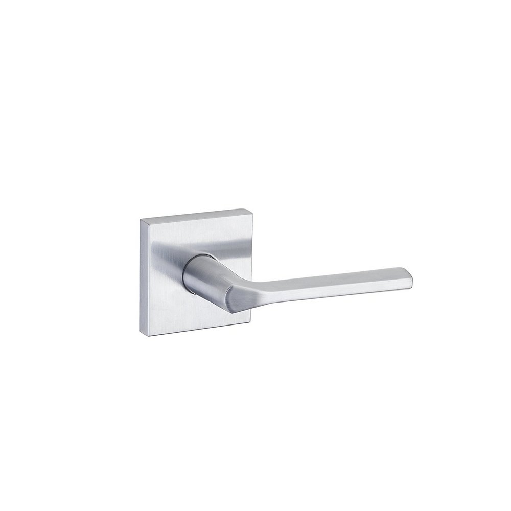 Kwikset 91540-025 Square Lisbon Square Hall/Closet Lever In Satin Chrome