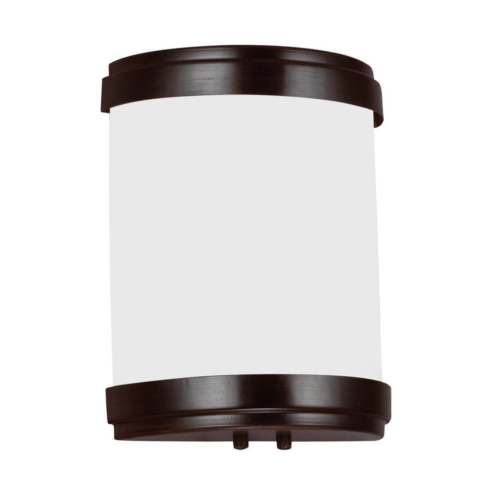 Ada Wall Sconces Led : Sea Gull Lighting 4933491S-710 Ada Led Wall Sconce Burnt Sienna Finish