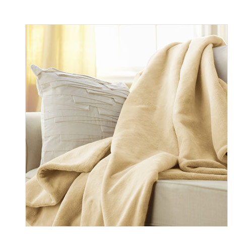 Microplush Throw Camelot Cuddler Heated Electric Warming