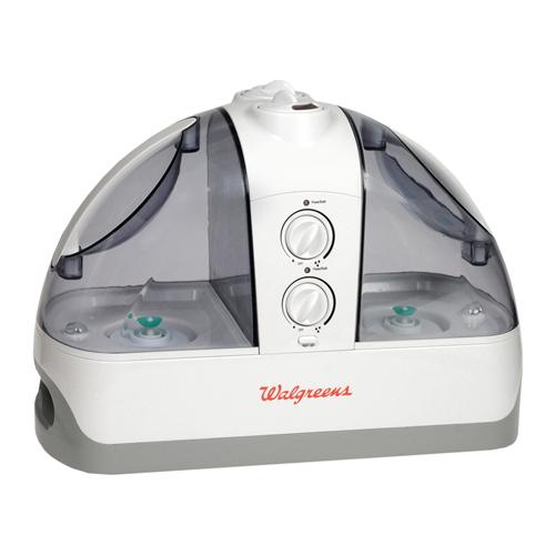 Walgreens High Output Dual Tank Ultrasonic Quiet Cool Mist