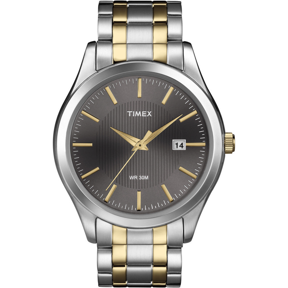 Click here for Timex T2N799 Mens 2-Tone Band Elevated Classics Dr... prices
