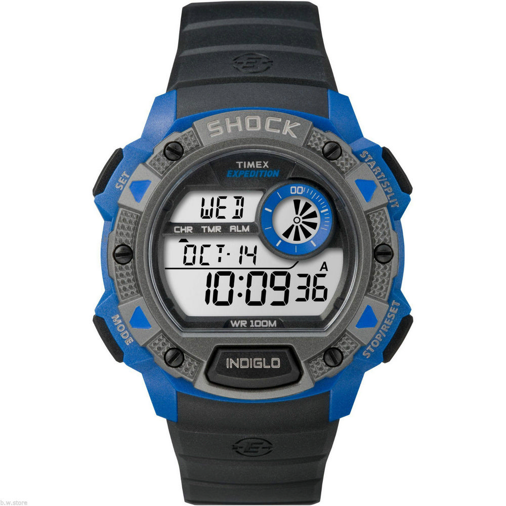 Timex® Expedition® Atlantis Men's Digital Watch | Walmart ... |Timex Expedition Digital Watches Men