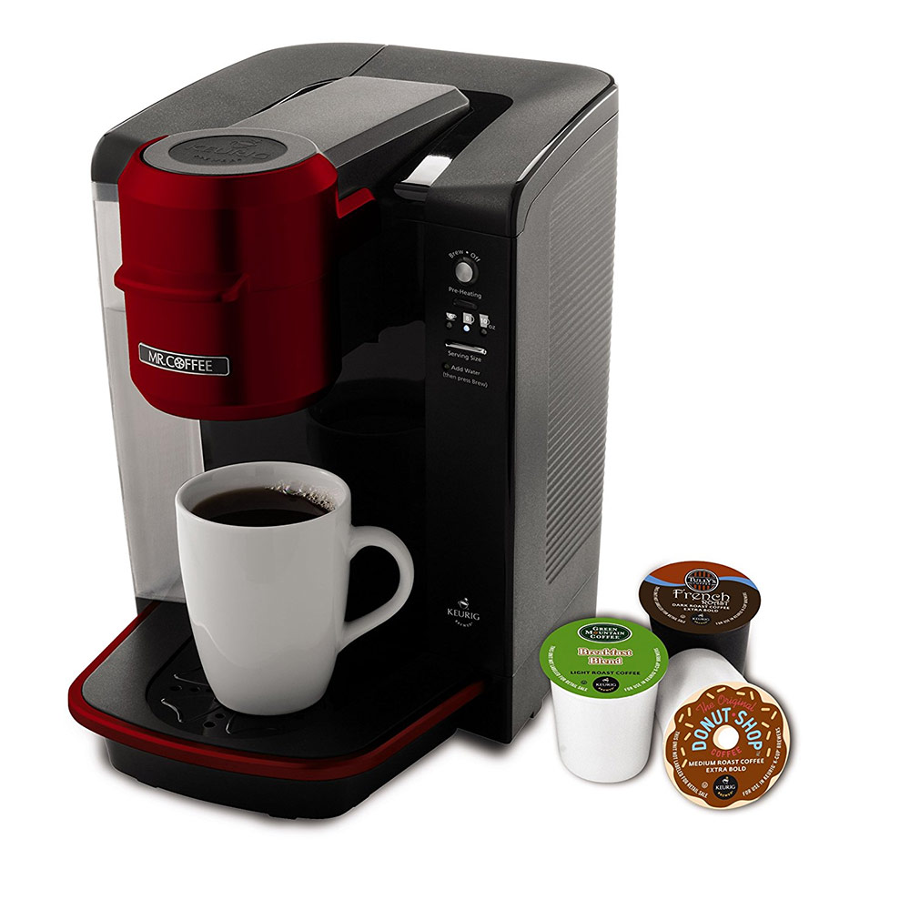 Mr. Coffee BVMC-KG6R Single Serve Coffee Brewer Red BVMC-KG6R