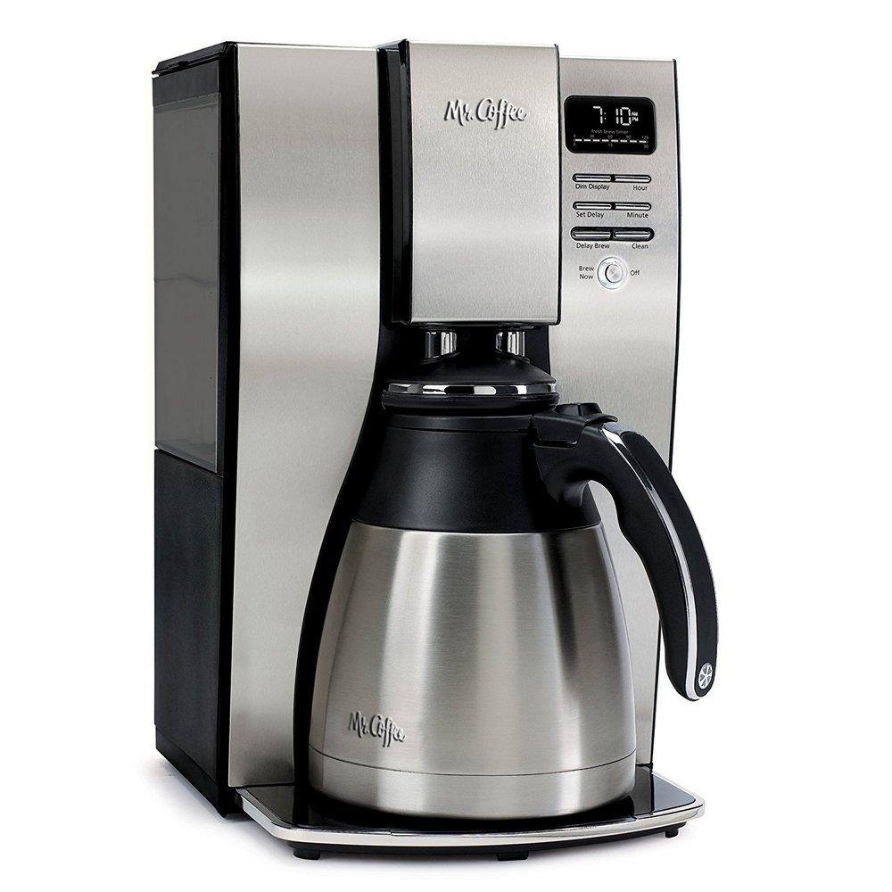 Mr. Coffee BVMC-PSTX95 10 Cup Optimal Brew Thermal Coffee Maker Stainless Steel BVMC-PSTX95