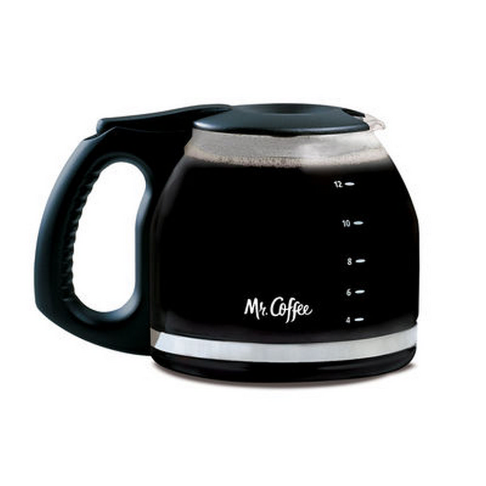Mr. Coffee® 12-Cup Glass Carafe, Black by Mr. Coffee PLD12-RB