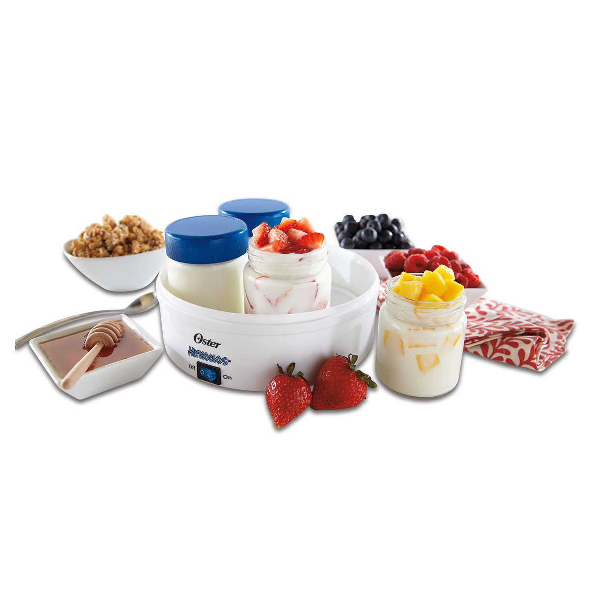 Oster CKSTYM1001 Mykonos Greek Yogurt Maker