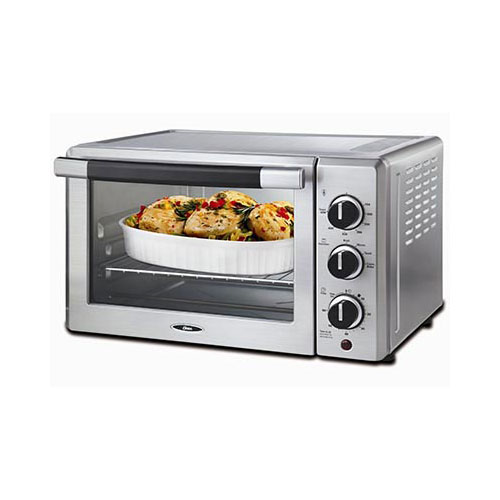 Oster Tssttvcf01 6 Slice Convection Toaster Oven Stainless