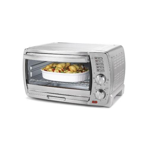 Oster Tssttvskbt Large Convection Toaster Oven Chrome Ebay