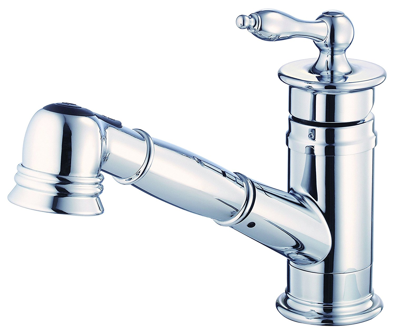 Details about Danze D455510 Prince Single Handle Pull-Out Kitchen Faucet