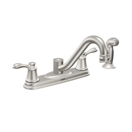 Moen Ca87629srs Caldwell Kitchen Faucet Spot Resist