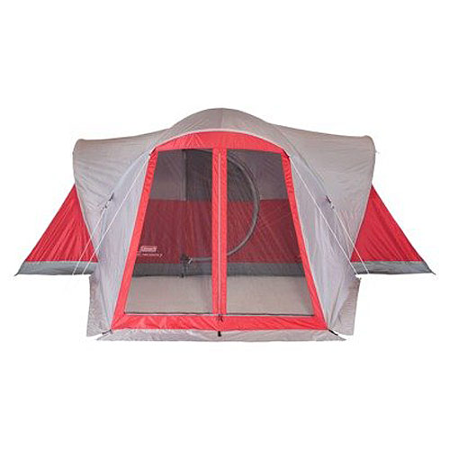 Coleman 2000012700 Easy Set-Up Bristol 8-Person Screened Tent with Vestibule - Camping and Hiking Outdoor Sports