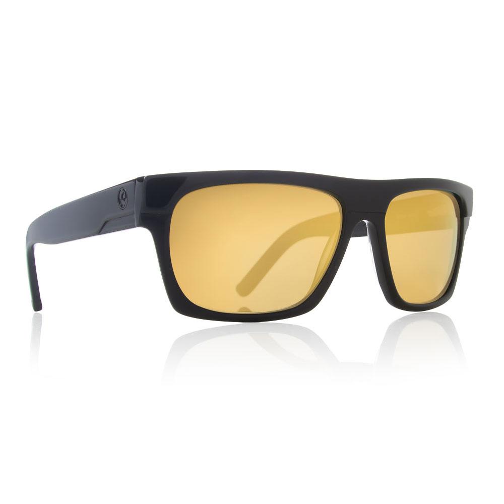 e0e30af8b0 Details about Dragon Alliance Viceroy Sunglasses Black Frames Gold Ion  Lenses