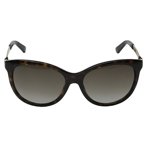 Gucci Sunglasses 3784/S Womens Cat Eye Dark Havana Gold ...