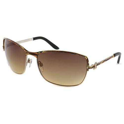 Just Cavalli JC 329S 33F Aviator Sunglasses Tiger Striped - Just Cavalli Sunglasses Fashion