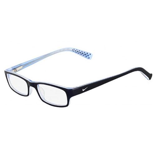 Nike Unisex Eyeglasses 5515-415 Blue White Full Rim Frames ...