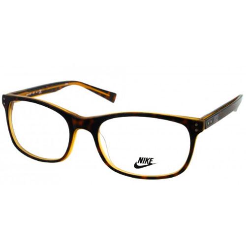 0097083cfbe Nike Mens Eyeglasses 7224-230 Havana Full Rim Frames 883121905023