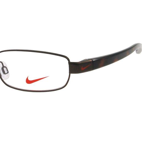 Nike Mens Eyeglasses 8091-209 Satin Brown Walnut Tortoise ...